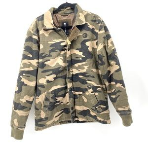 Host Pick! NWT  Billabong camo jacket size M